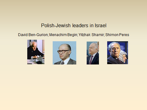 Polish-Israeli Leaders